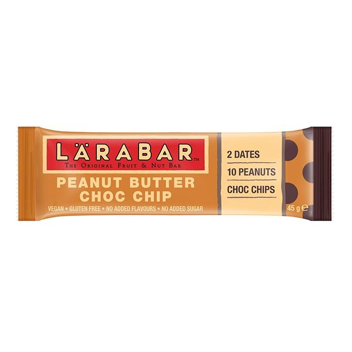 Larabar Peanut Butter Choc Chip Bar 45g