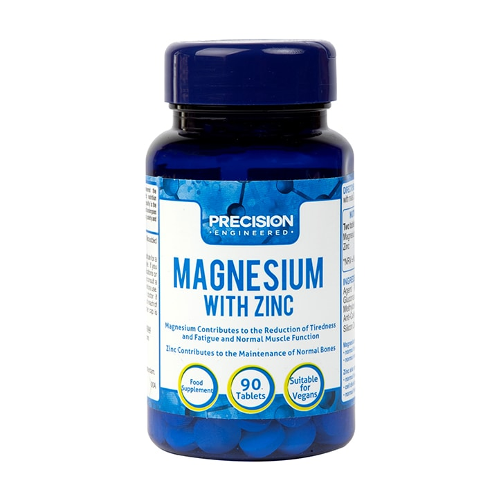 Precision Engineered Magnesium with Zinc 90 Tablets
