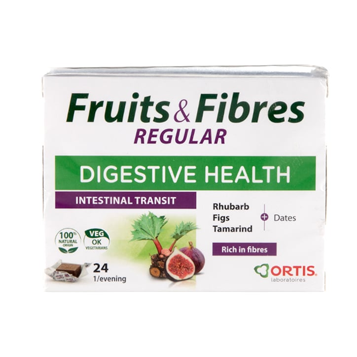 Ortis Fruits & Fibres Chewable Cubes Pack of 24