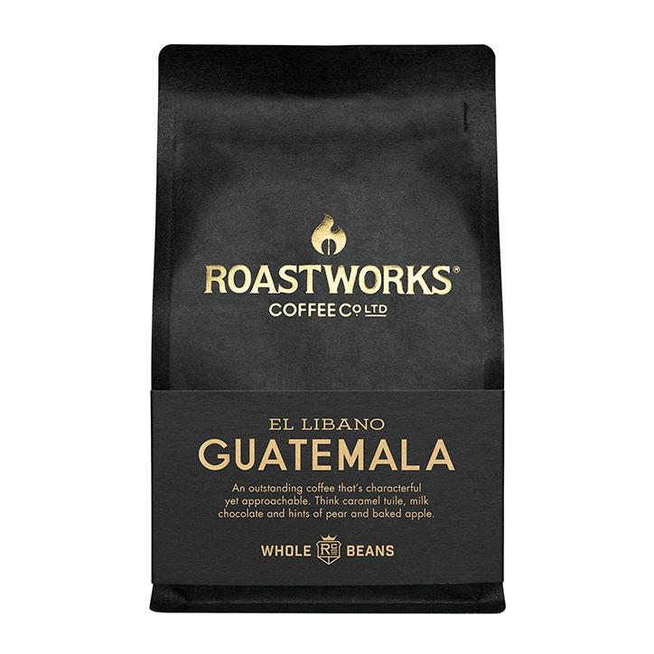 Roastworks Coffee Co Ltd. Guatemala Whole Beans 200g