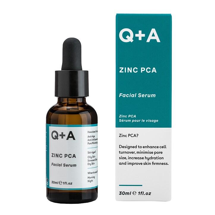 Q+A Natural Skincare Zinc PCA Facial Serum 30ml