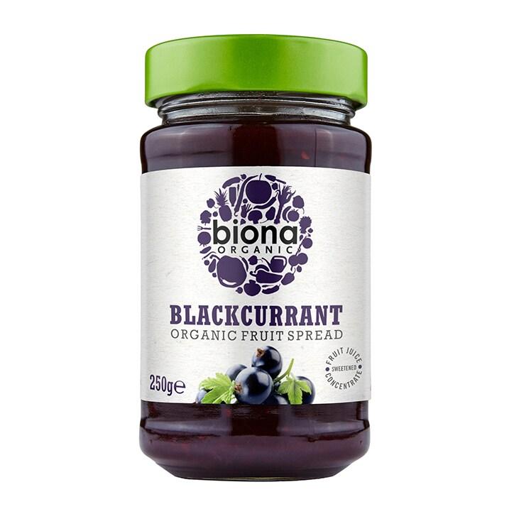 Biona Organic Blackcurrant Spread 250g