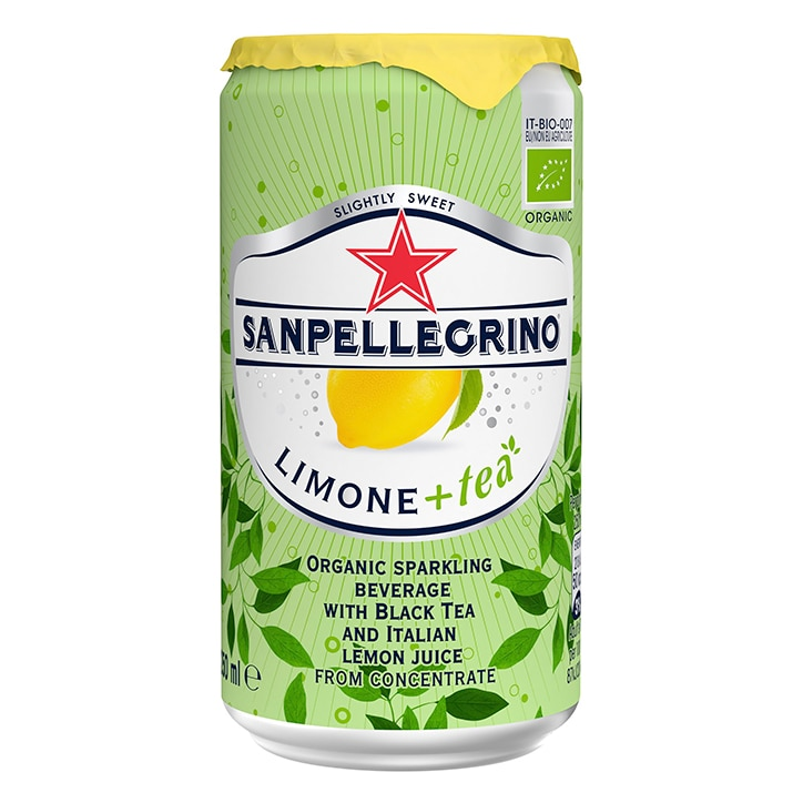 San Pellegrino Sparkling Tea & Lemon 250ml