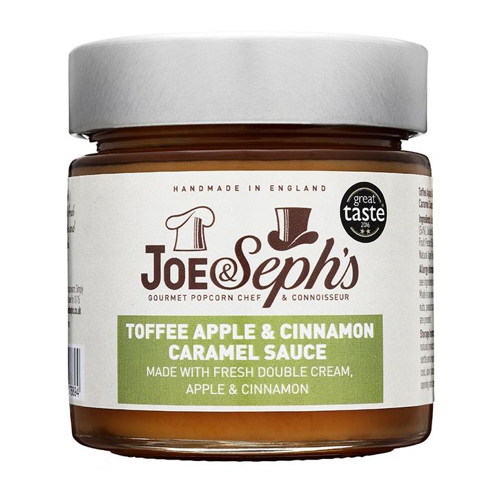 Joe & Sephs Toffee Apple & Cinnamon Caramel Sauce 230g