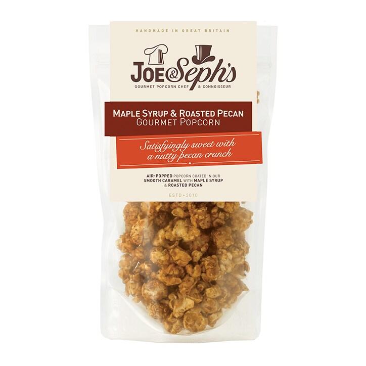 Joe & Sephs Maple Syrup & Pecan Popcorn 80g