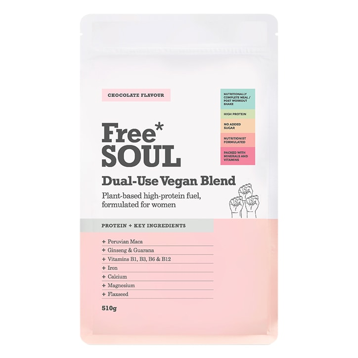Free Soul Dual Use Blend Vegan Chocolate 510g