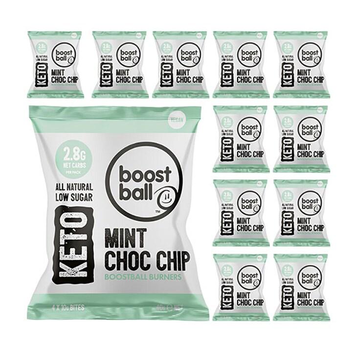Boost Ball Keto Choc Mint 12 x 40g