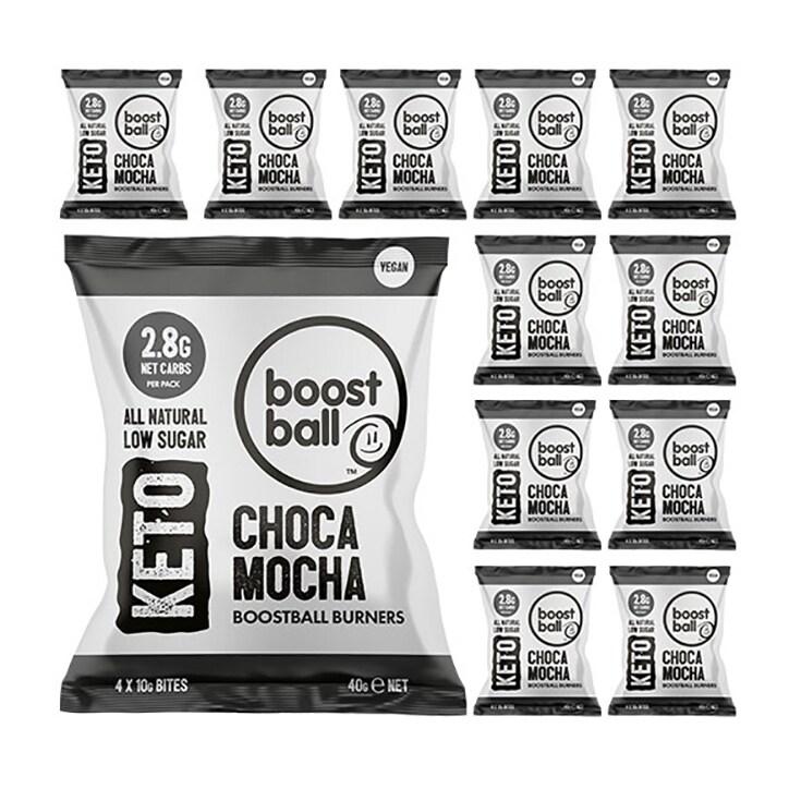 Boost Ball Keto Chocca Mocha 12 x 40g