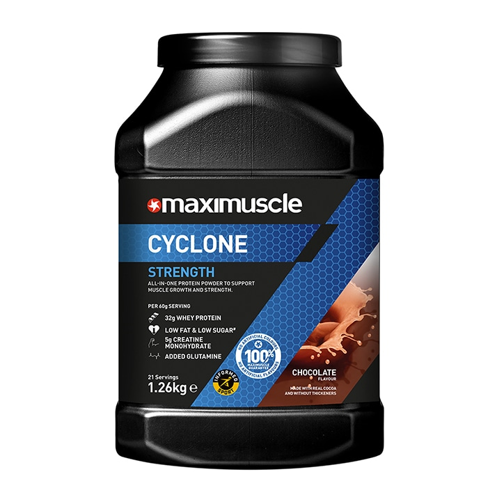 Maximuscle Cyclone Chocolate 1260g