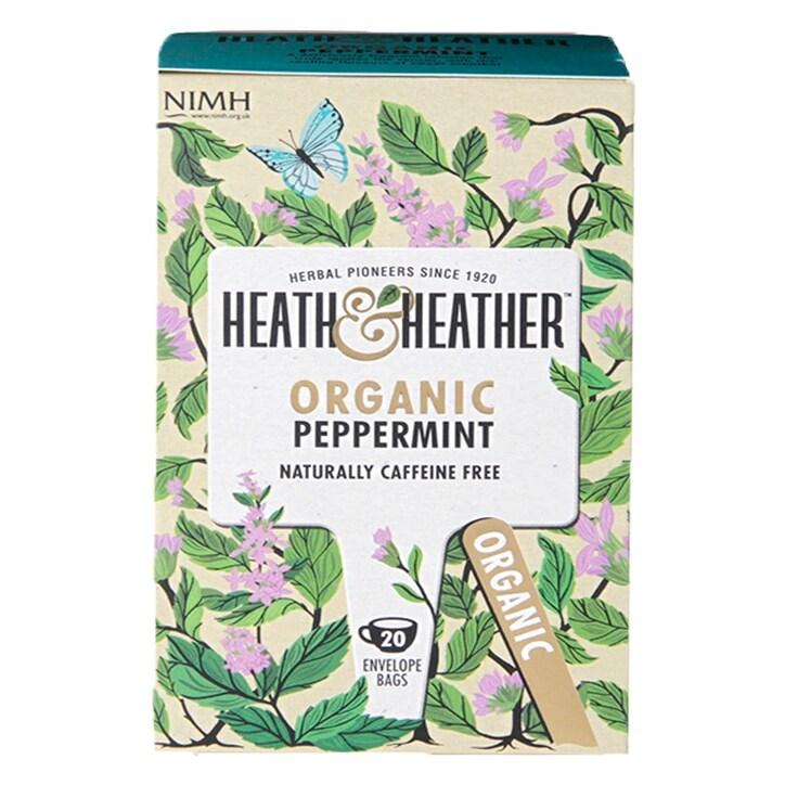 Heath & Heather Organic Peppermint Tea