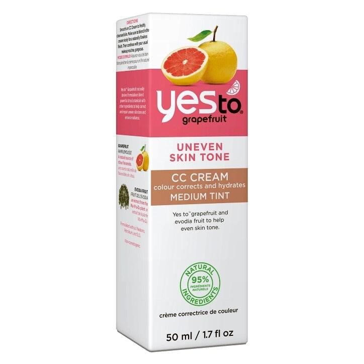 Yes To Grapefruit CC Cream (Medium) 50ml