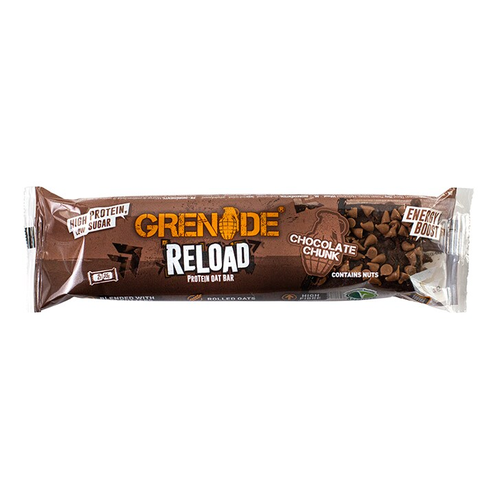 Grenade Reload Protein Oat Bar Chocolate Chunk 70g