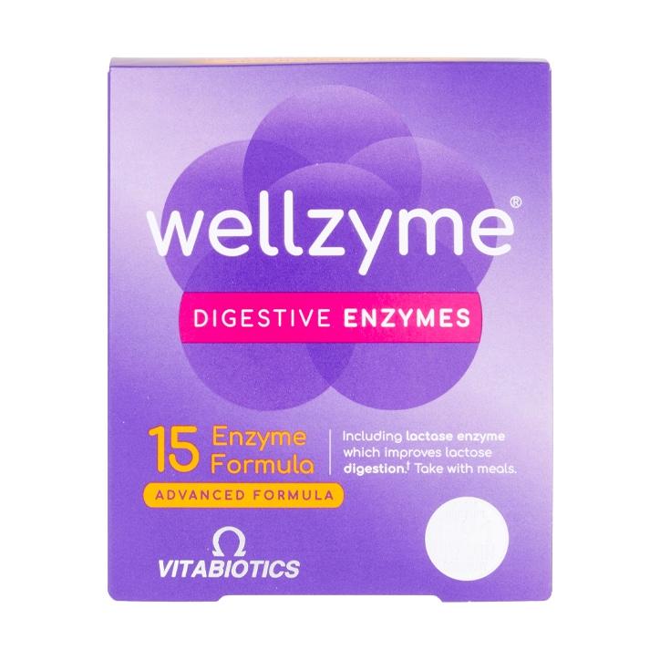 Vitabiotics Wellzyme 15 Enzyme Formula 60 Capsules
