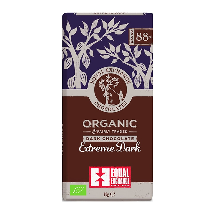 Equal Exchange 88% Extreme Dark Chocolate 80g