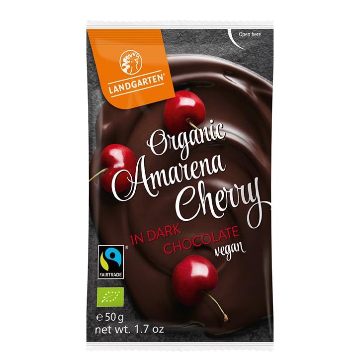Landgarten Armarena Cherries In Dark Chocolate 50g