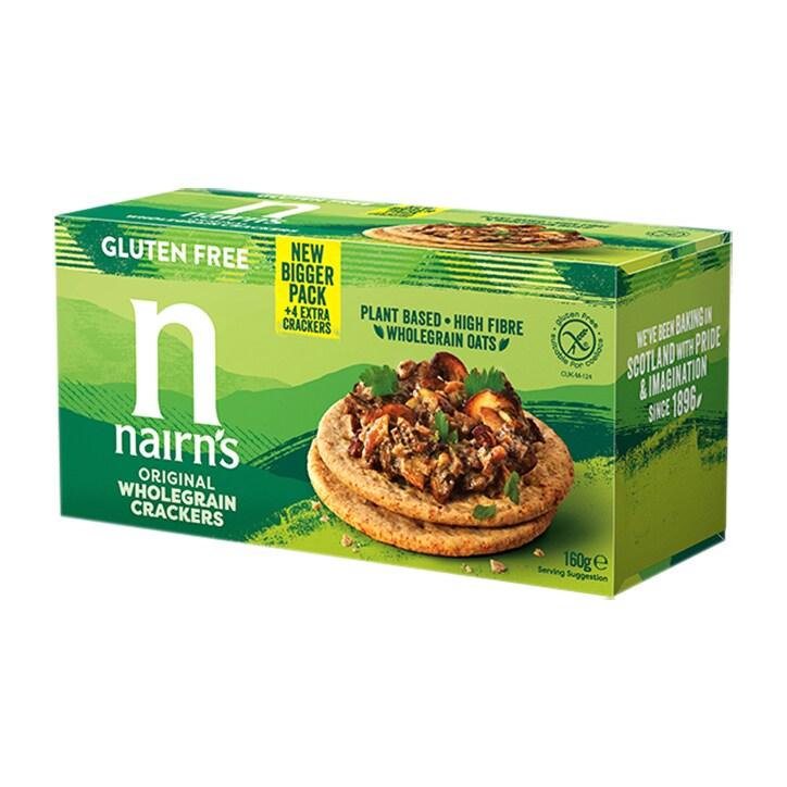 Nairn's Gluten Free Wholegrain Crackers 114g