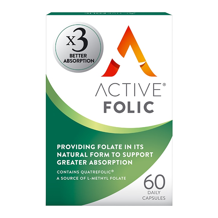 Active Folic 60 Capsules