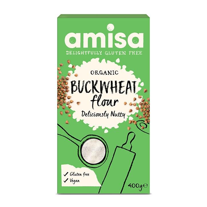 Amisa Gluten Free & Organic Fine Buckwheat Flour 400g