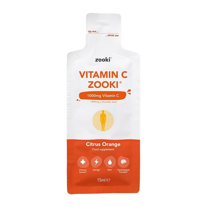 YourZooki Liposomal Vitamin C 1000mg 15ml Sachet
