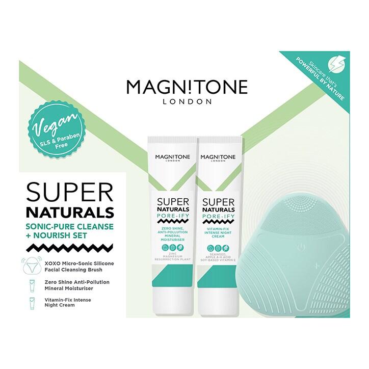Magnitone Super Naturals Sonic - Pure Cleanse and Nourish Set
