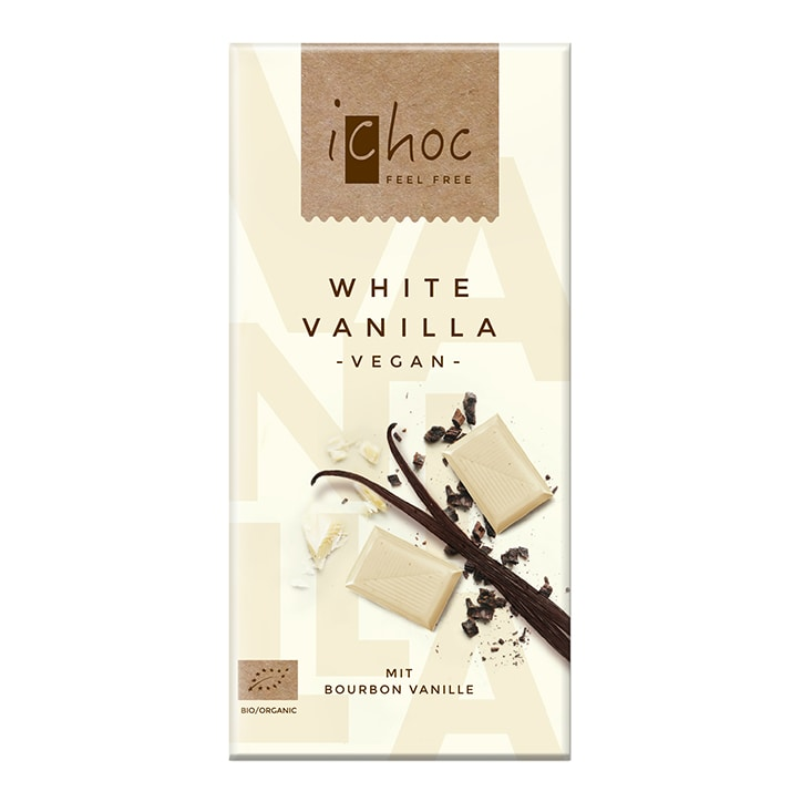 Ichoc White Vanilla White Rice Chocolate 80g