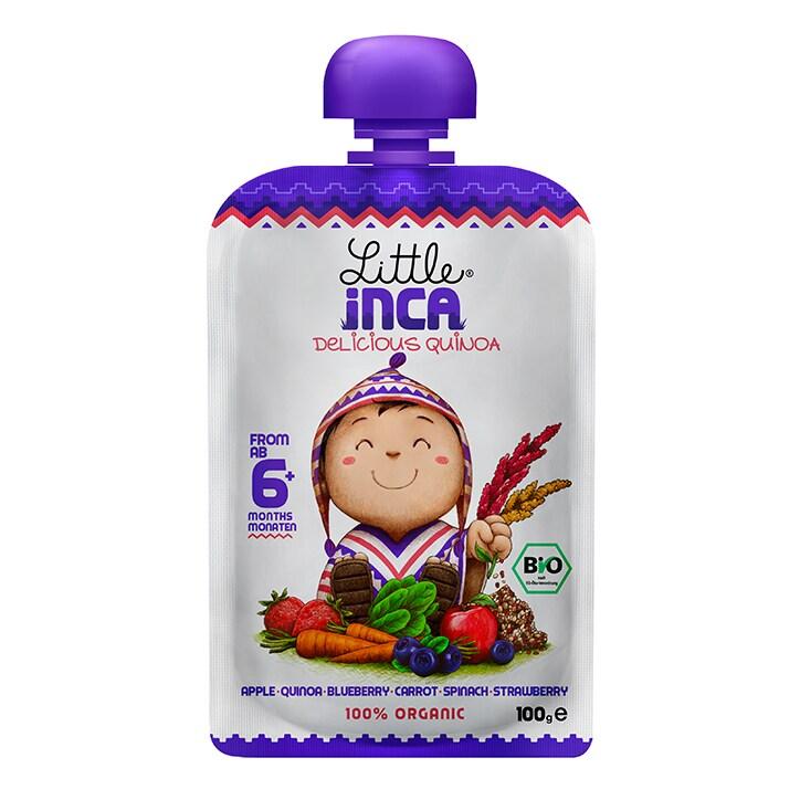 Little Inca Yummy Purple Quinoa Baby Food 100g