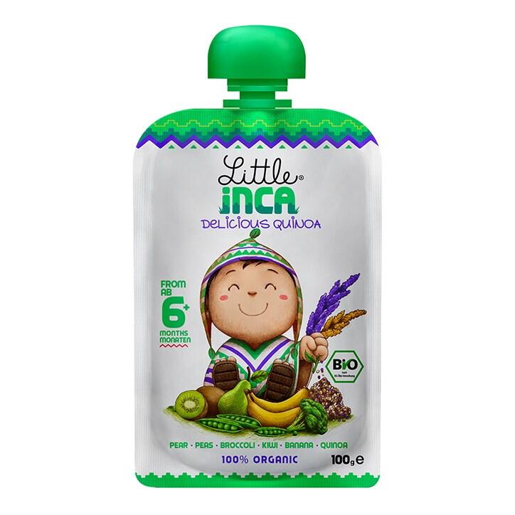 Little Inca Joyful Green Quinoa Baby Food 100g
