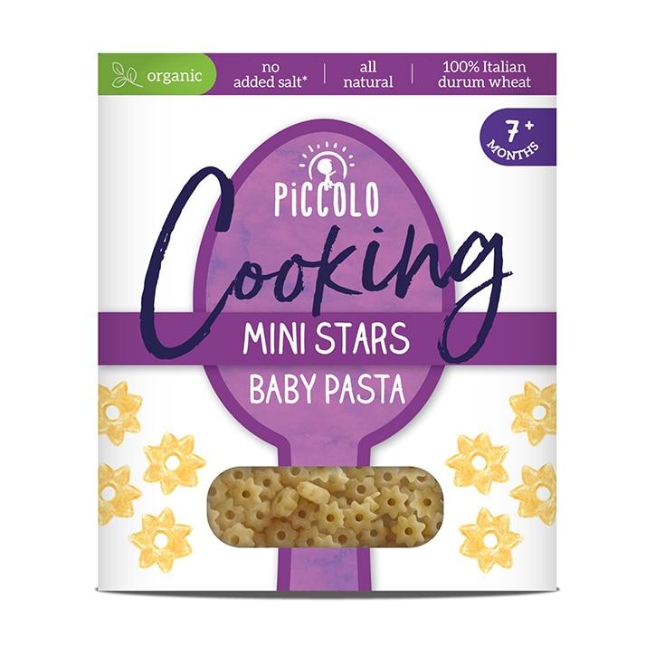 Piccolo Organic Baby Pasta Stars 7m+ 400g