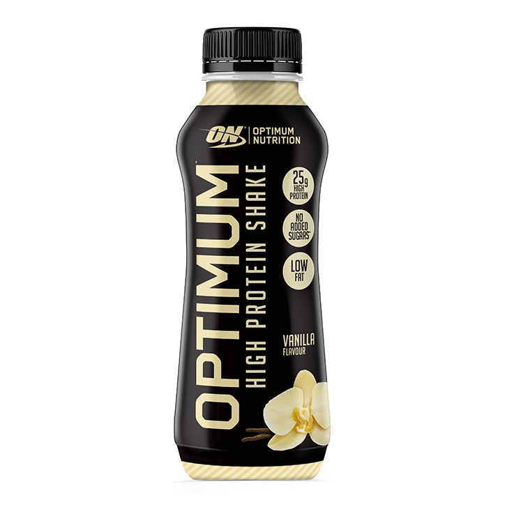 Optimum Nutrition High Protein Shake RTD Vanilla  330ml