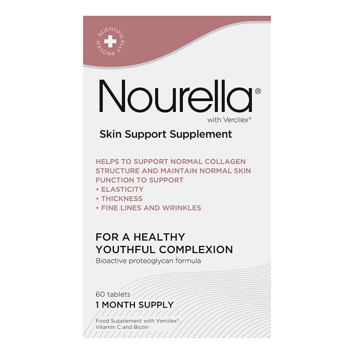 Nourella Active Skin Support Supplement 60 Tablets