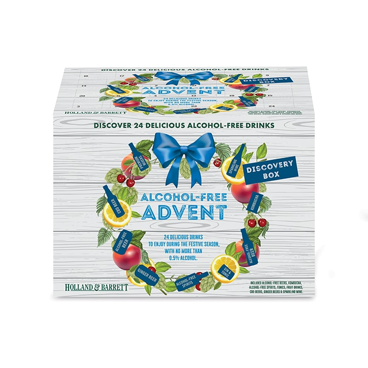 Holland & Barrett Alcohol Free Drinks Advent Discovery Box