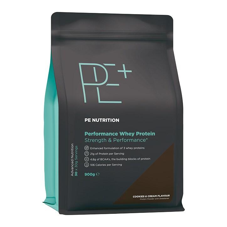 PE Nutrition Performance Whey Cookies & Cream 900g