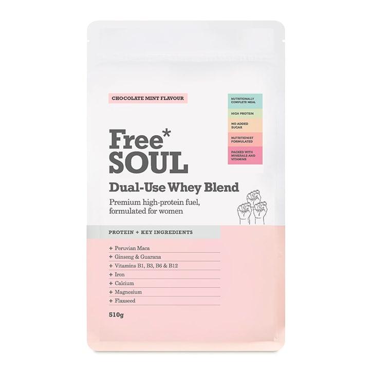 Free Soul Dual Use Blend Whey Chocolate Mint