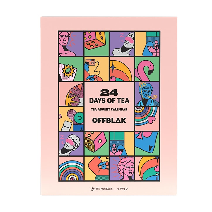 Offblak 24 Days of Tea Advent Calendar 60g