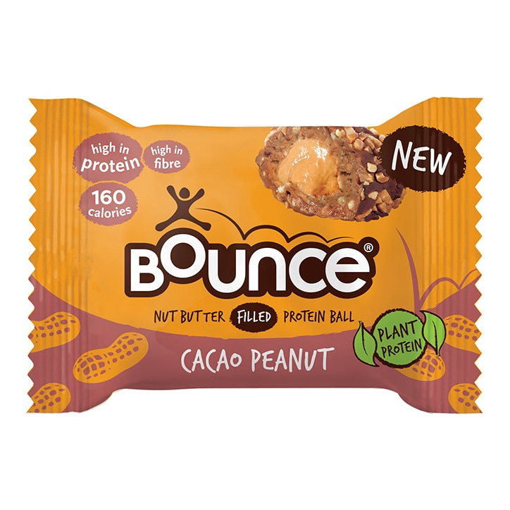 Bounce Peanut Butter Filled Cacao Plant Protein Ball 35g