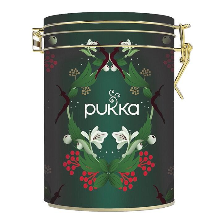 Pukka Christmas Kilner Tea Tin