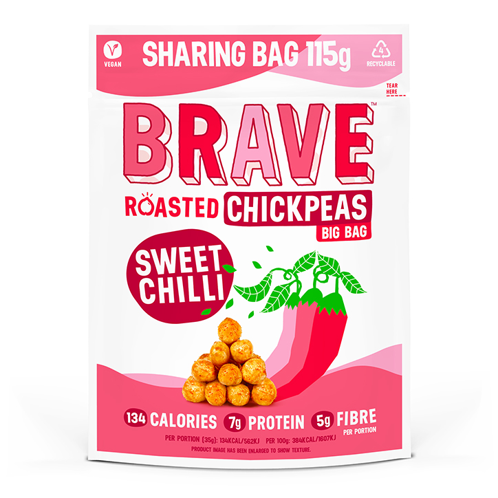BRAVE Roasted Chickpeas Sweet Chilli 115g