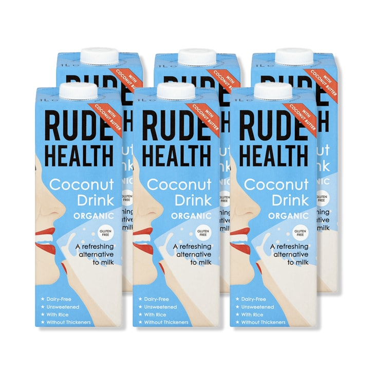 Rude Health Coconut Drink 6 x 1L