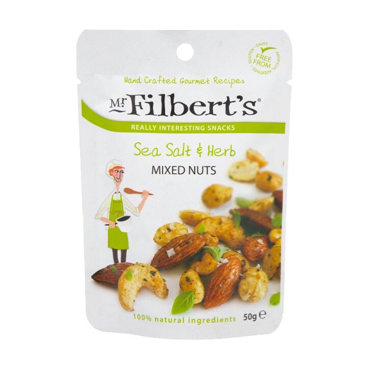 Mr Filbert's Sea Salt & Herb Mixed Nuts 50g