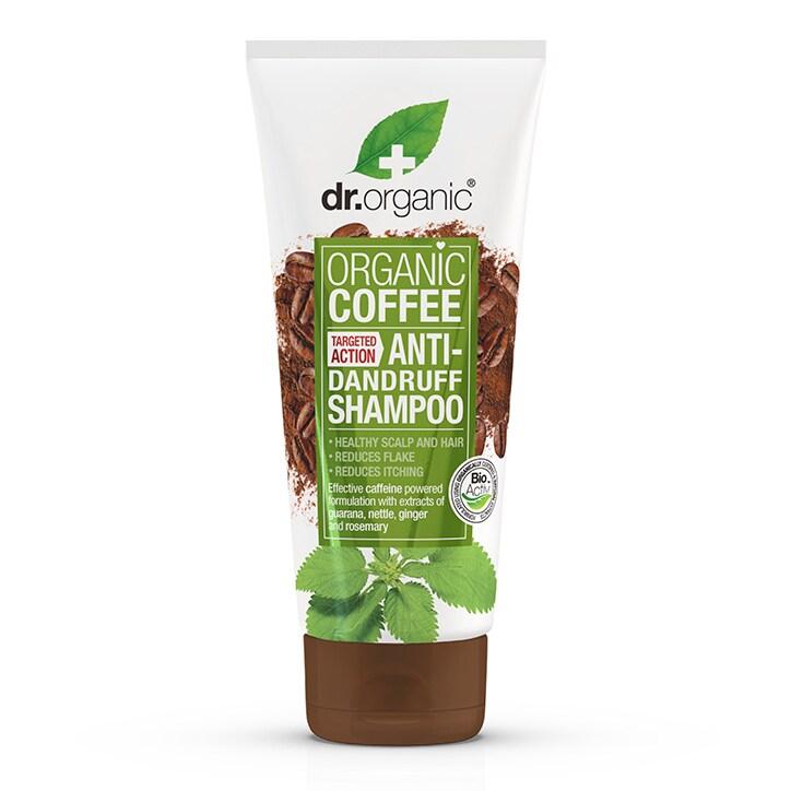 Dr Organic Coffee Anti-Dandruff Shampoo 200ml