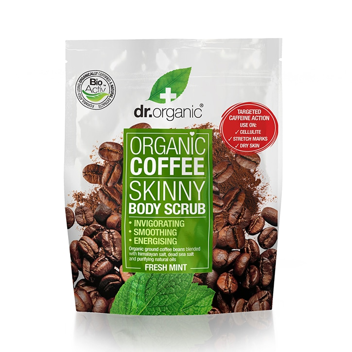 Dr Organic Coffee Mint Body Scrub 200ml