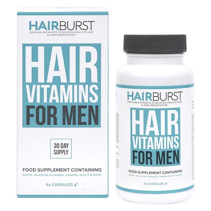 Hairburst Hair Vitamins For Men 60 Capsules 1 Month Supply
