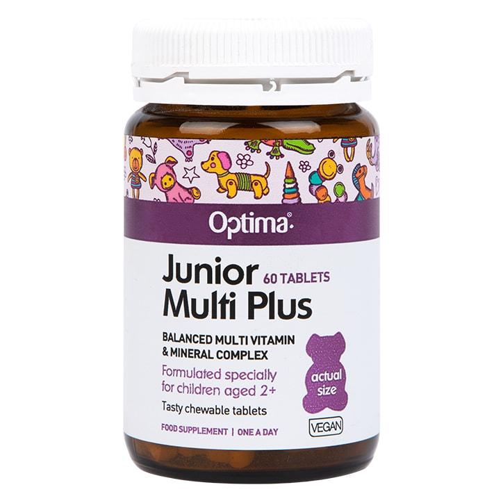 Optima Healthcare Junior Multi Plus Chewable 60 Tablets