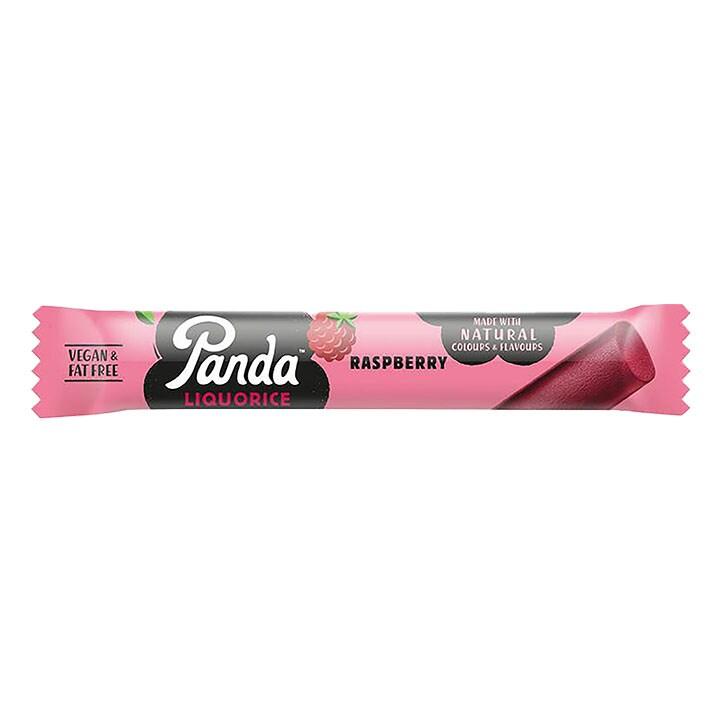 Panda All Natural Raspberry Liquorice Bar 32g