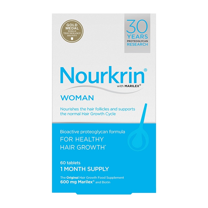 Nourkrin Woman Hair Nutrition 1 Month Supply 60 Tablets