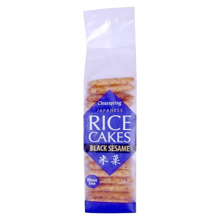 Clearspring Japanese Black Sesame Rice Cakes  150g