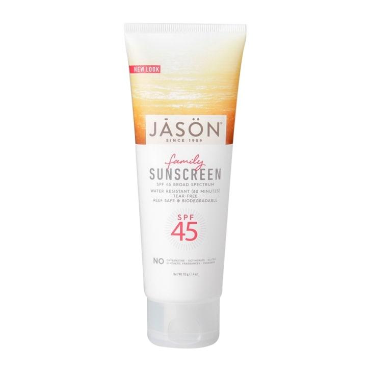 Jason Sunbrellas Family Natural Sunblock SPF45 113g