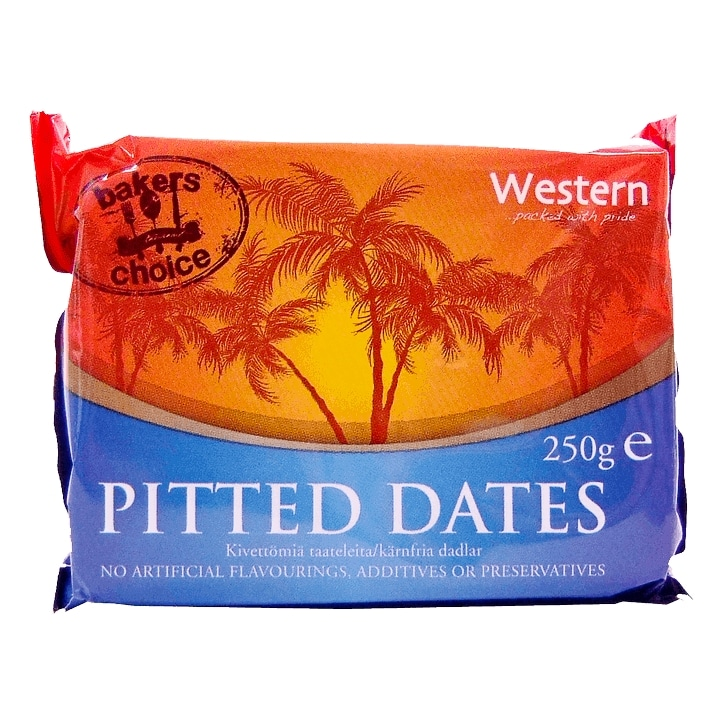 Western Pitted Dates 250g
