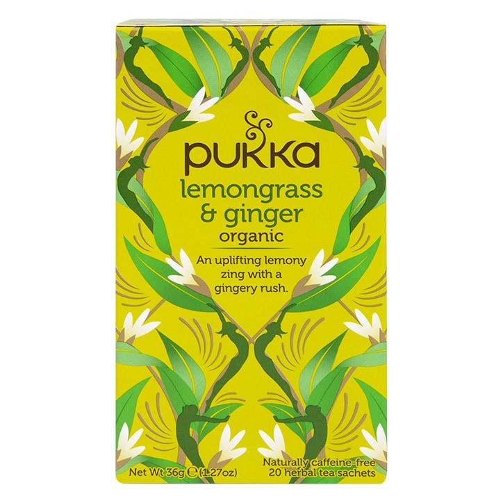 Pukka Lemongrass & Ginger Tea 20 Tea Bags