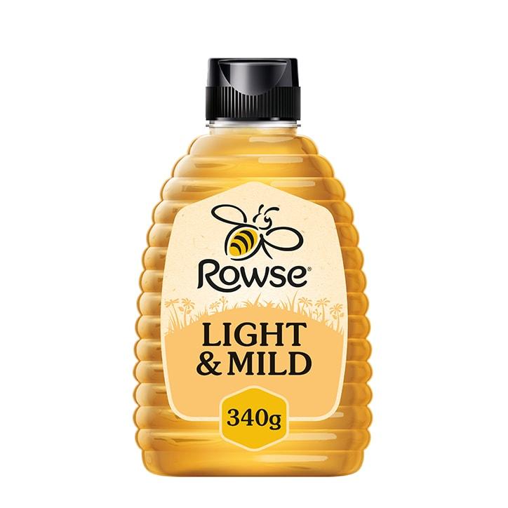 Rowse Light & Mild Honey 340g